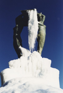 L'Aquila Fontana Luminosa (foto di E.Rainaldi)