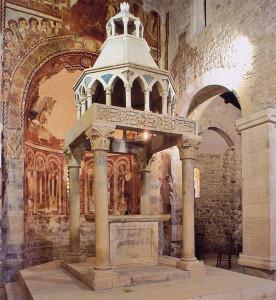 S.Pietro ad Oratorium:ciborio