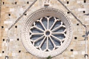 Duomo di Atri: Rosone ( N. Masci)