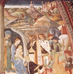 Atri:Coro con affreschi di A. de Litio