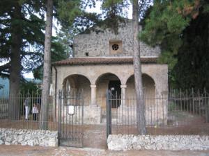 Bominaco: Oratorio di S.Pellegrino