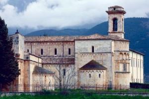 Corfinio: Basilica Valvense