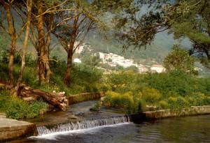 Stiffe: fiume Aterno (foto di E.Rainaldi)